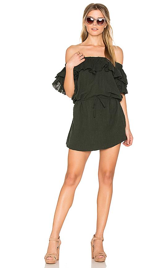 SIR the label Chessa Dress in Dark Green