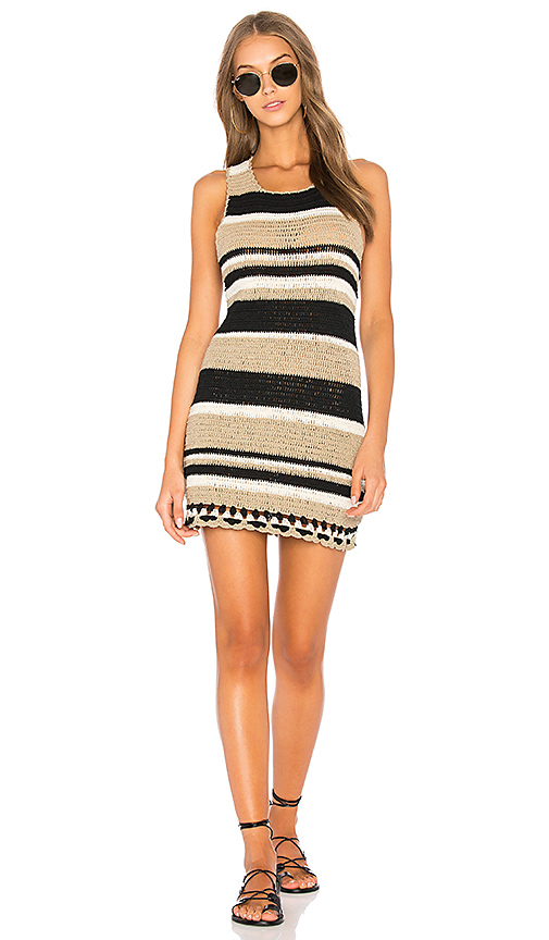 SIR the label Camelle Dress in Taupe