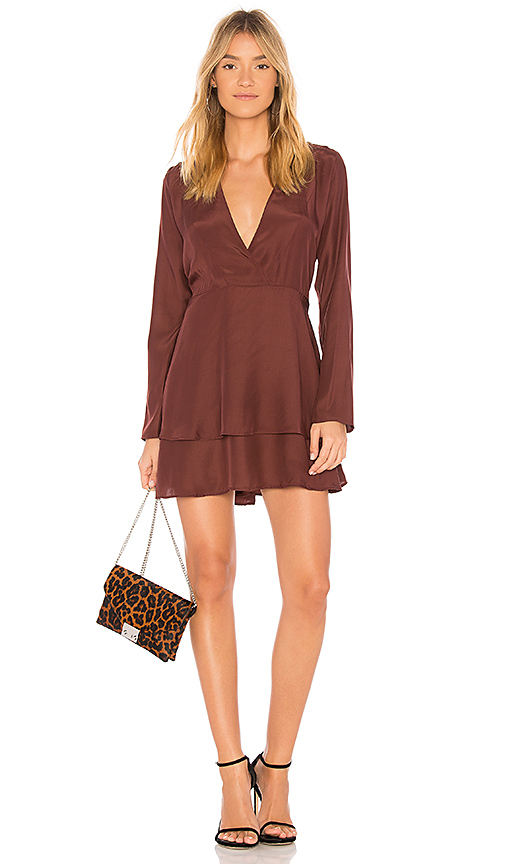 SIR the label Adeline Dress in Wine