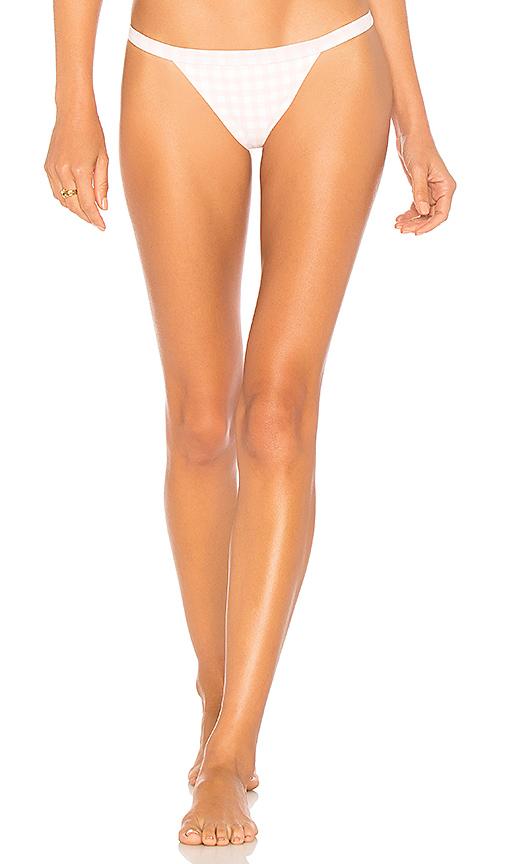 SKYE & staghorn Siren Bikini Bottom in Blush