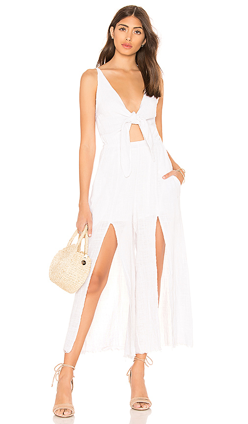 Somedays Lovin Lucid Dreaming Jumpsuit in White. - size S (also in L,M,XS)