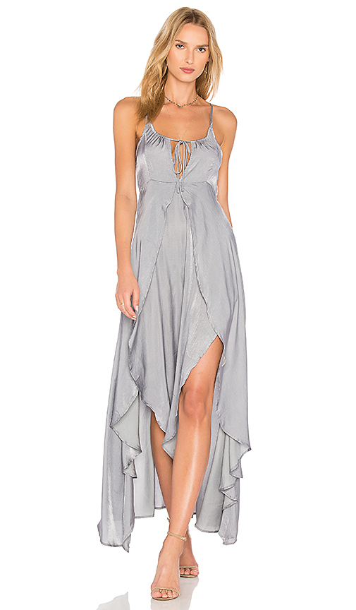 Somedays Lovin Night Hour Maxi Dress in Charcoal