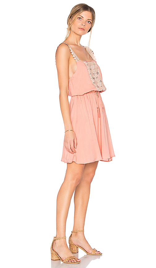 Photo of Somedays Lovin Sun Beams and Daydreams Dress in Peach - shop Somedays Lovin dresses sales