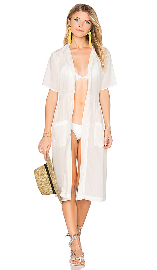 Solid & Striped The Pool Dress in White