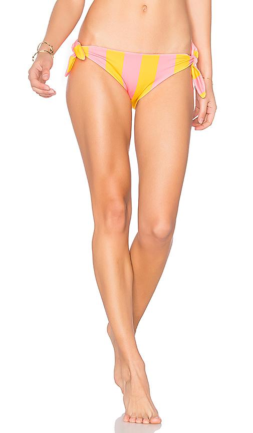 Solid & Striped The Jane Bikini Bottom in Coral