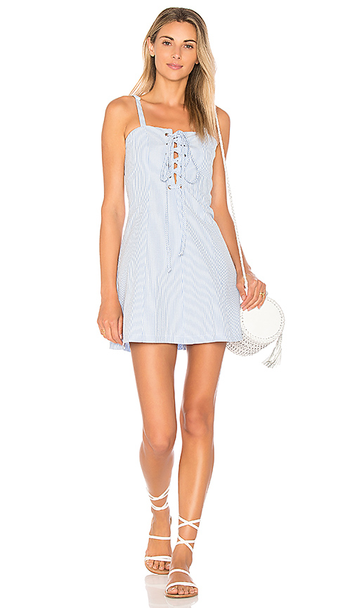 Solid & Striped The Catalina Dress in Baby Blue