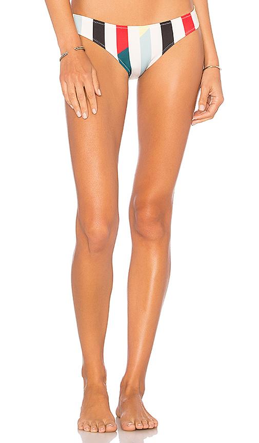 Solid & Striped The Split Bikini Bottom in White
