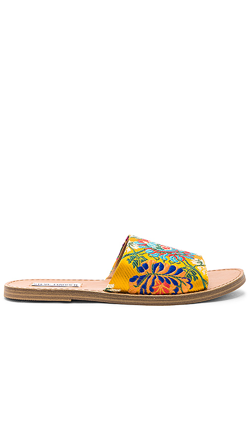 Steve Madden Grace Slide in Yellow