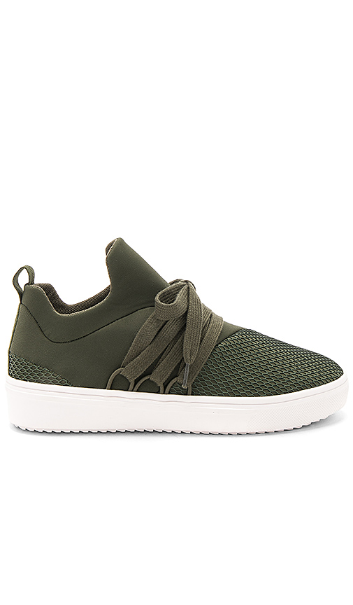 Steve Madden Lancer Sneaker in Army