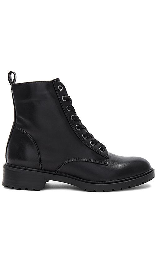 Steve Madden Officer Boot in Black
