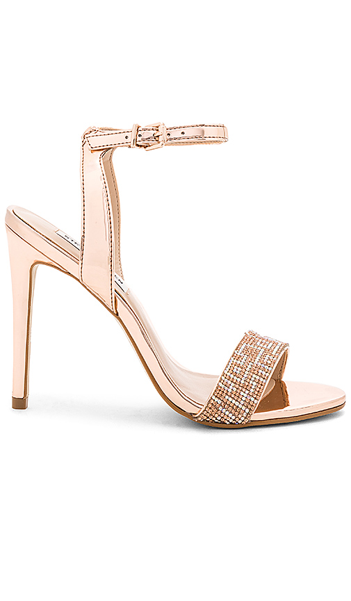 Steve Madden Leona Heel in Metallic Copper