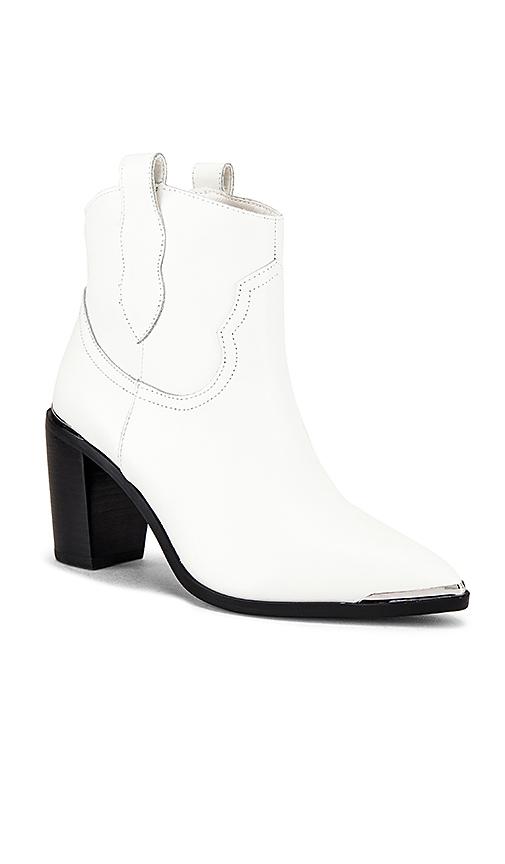 Steve Madden Zora Ankle Boot in White