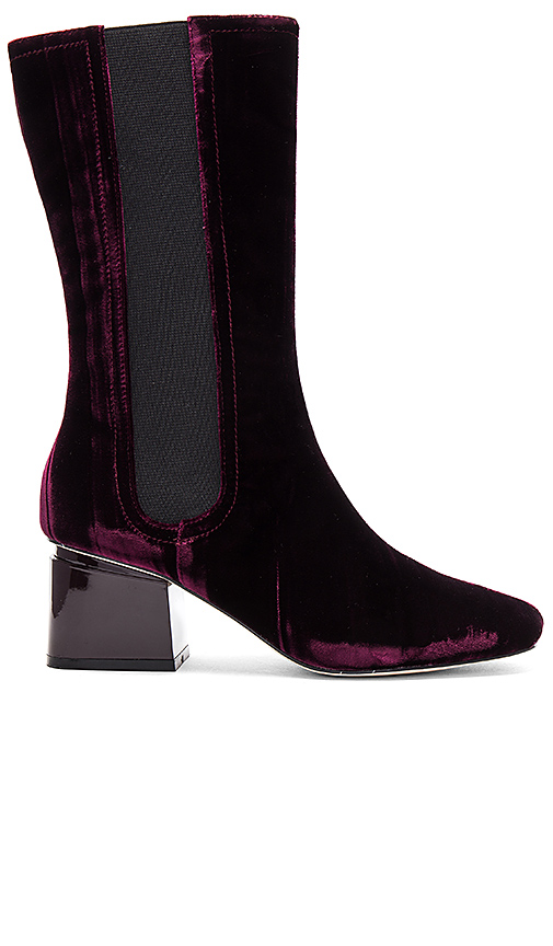 Photo of Sigerson Morrison Eartha Boot in Burgundy - shop Sigerson Morrison shoes sales