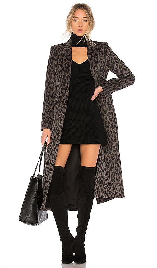 Smythe Brando Coat in Brown. - size 2 (also in 6)