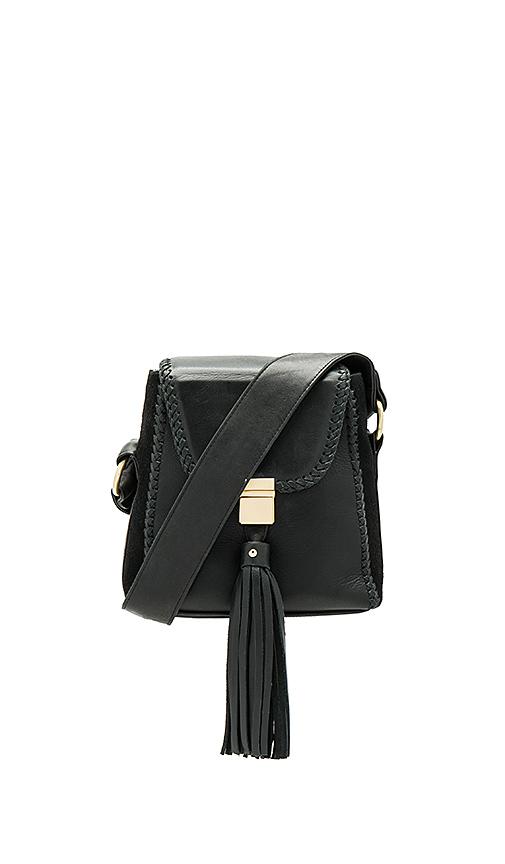 Sancia The Milla Braid Bag in Black