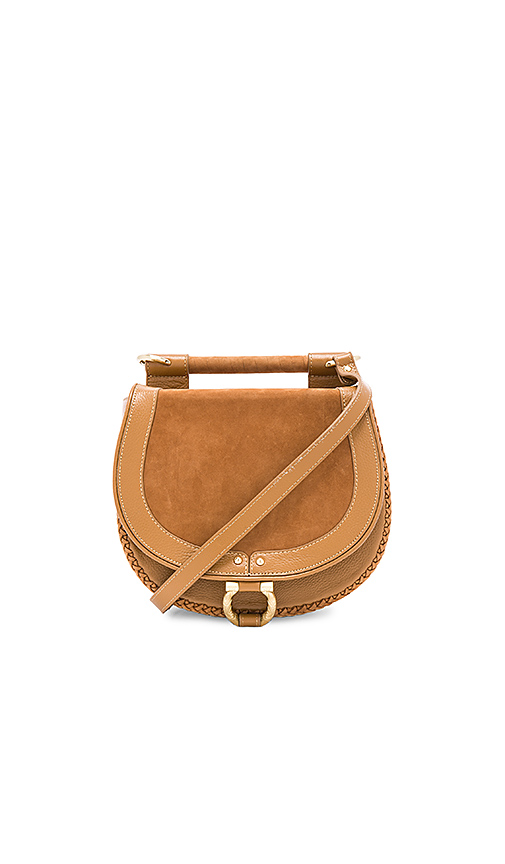 Sancia Babylon Bar Bag in Tan