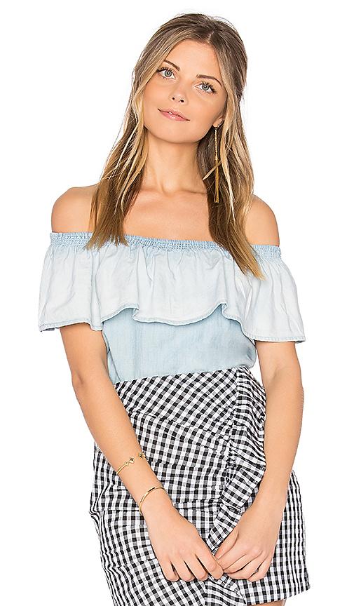 Soft Joie Vilma Top in Blue