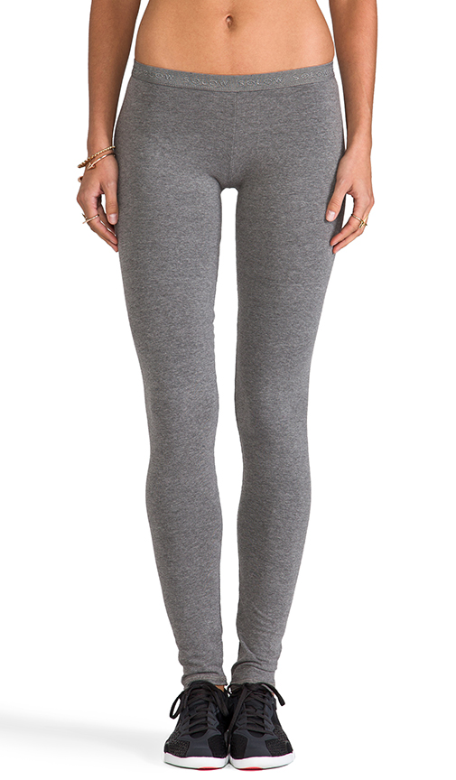 SOLOW Low Rise Legging in Gray