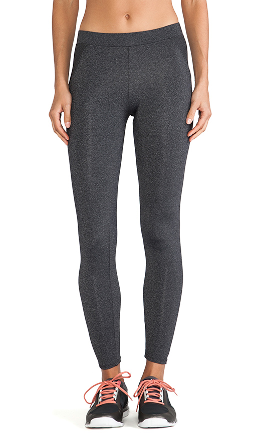 SOLOW Legging in Charcoal