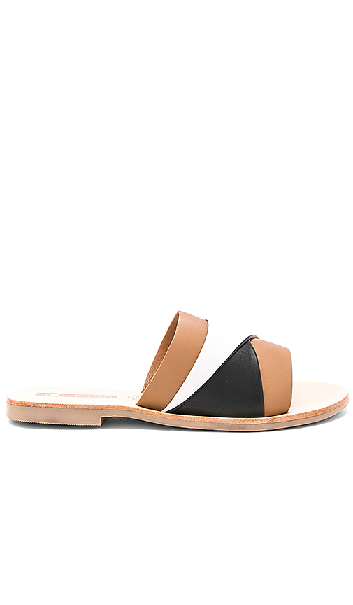 Sol Sana Twisted Slide in Brown
