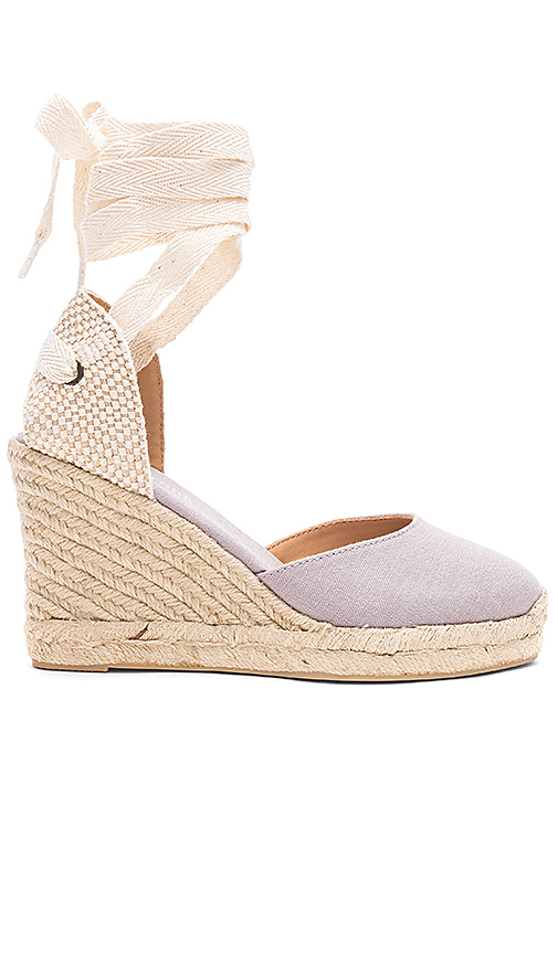 Soludos Tall Wedge in Slate