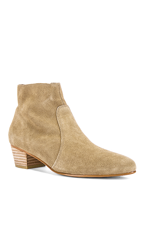 Soludos Lola Bootie in Taupe