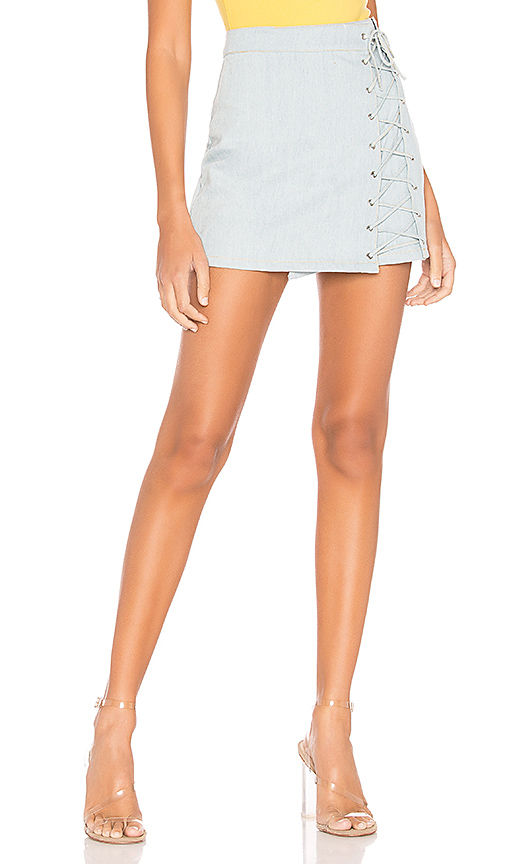superdown Pamela Denim Skirt