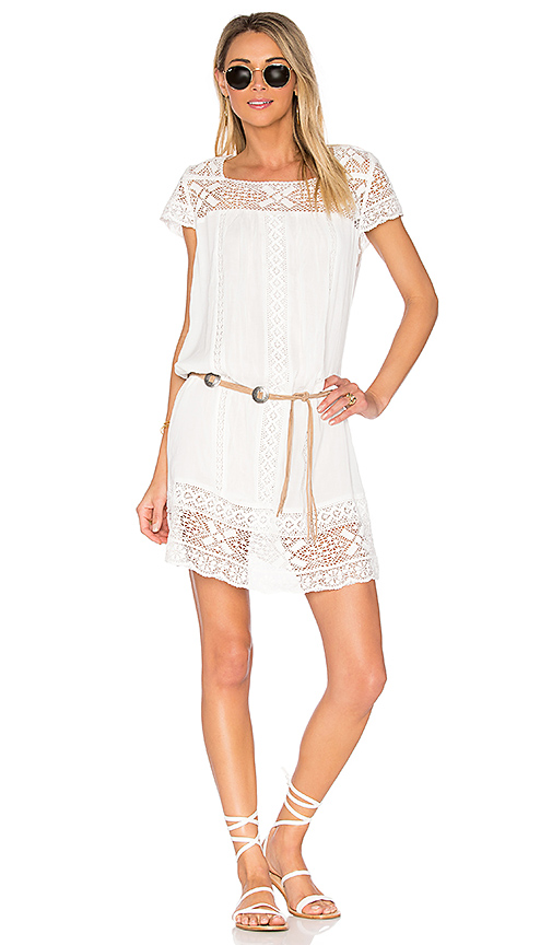 Spell & The Gypsy Collective Sunday Feels Mini Dress in White