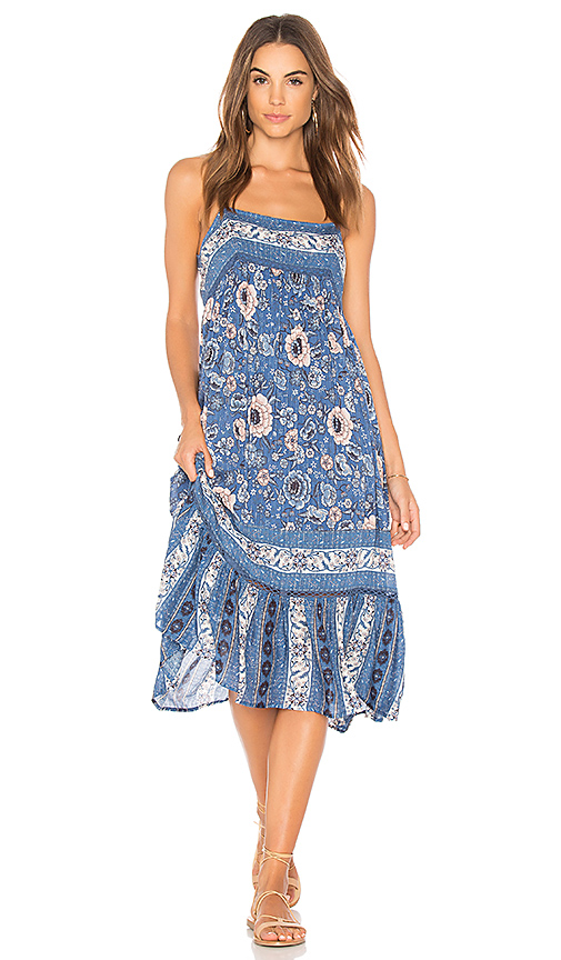 Spell & The Gypsy Collective Zahara Midi Dress in Blue