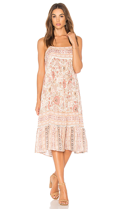 Spell & The Gypsy Collective Zahara Midi Dress in Pink
