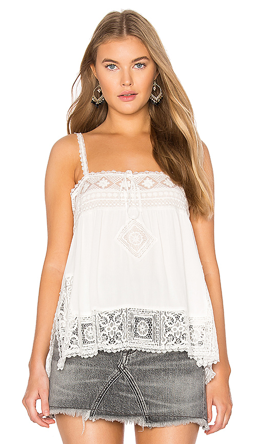 Spell & The Gypsy Collective Peaches Cami in White