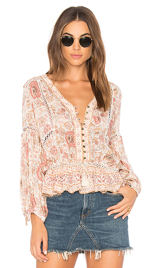 Spell & The Gypsy Collective Zahara Blouse in Pink. - size Aus 6/US XS (also in Aus 8/US S)