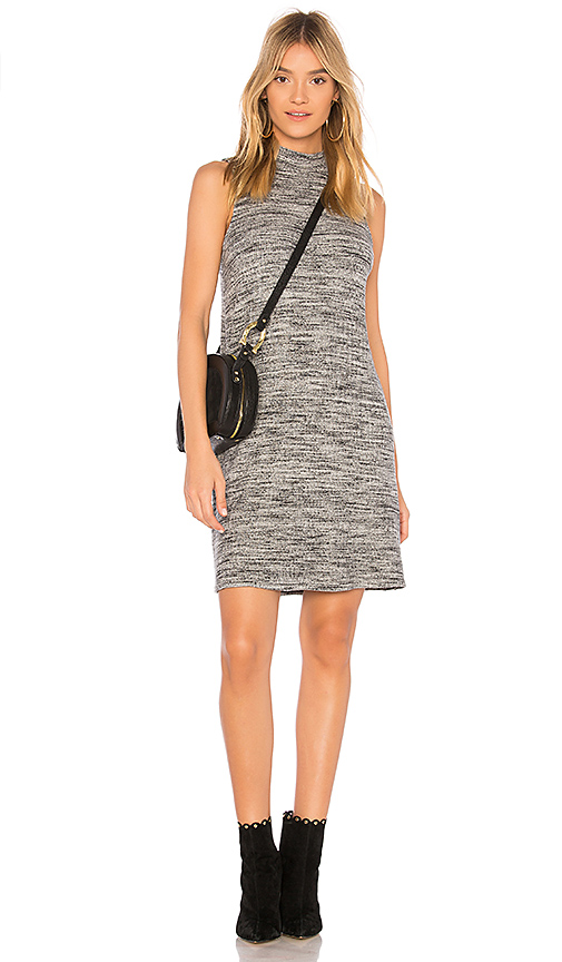 Splendid Turtleneck Tank Dress in Gray