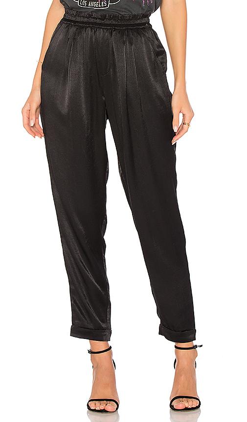 Splendid Satin Pant in Black. - size XS (also in L,M,S)