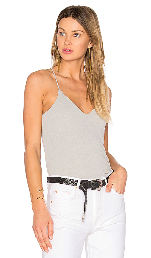 Splendid Sandwash Rib Tank in Gray