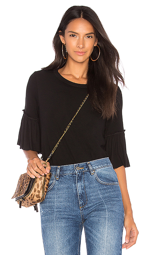 Splendid Sylvie Top in Black