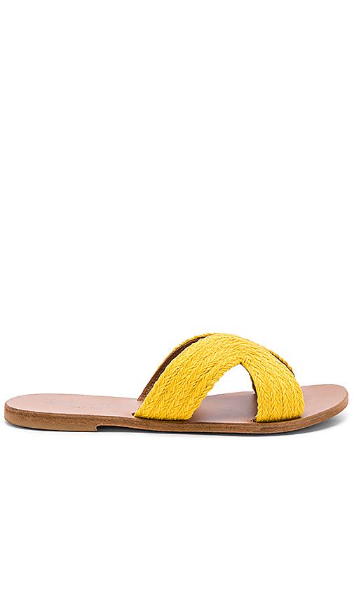 Splendid Sydney Sandal in Yellow