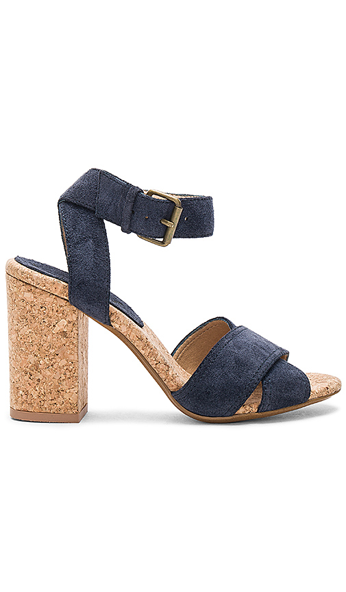 Splendid Birdie Heels in Navy