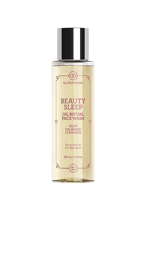 SUPERMOOD Beauty Sleep Oil Ritual Face Wash.