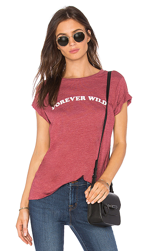 Spiritual Gangster Forever Wild Tee in Mauve