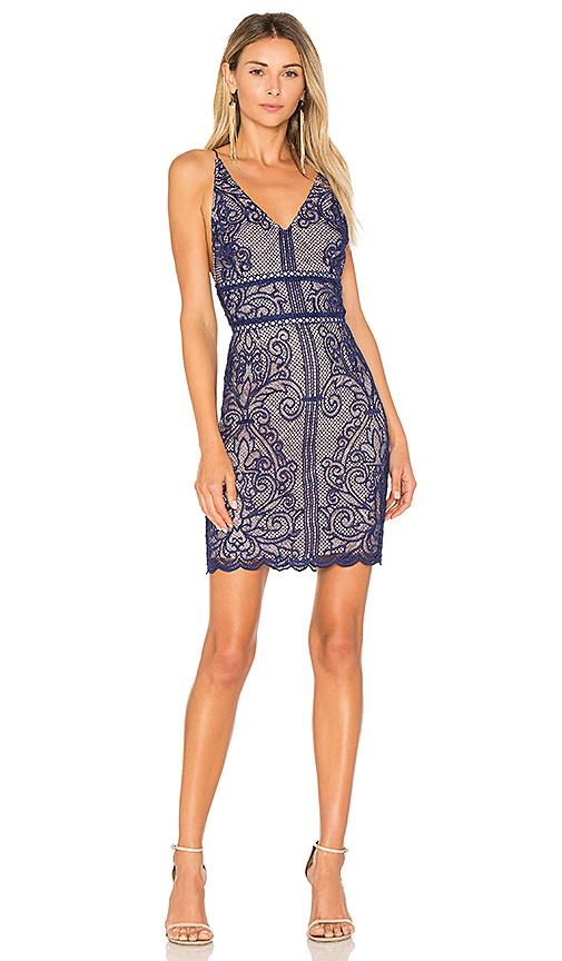 STYLESTALKER Stella Dress in Blue