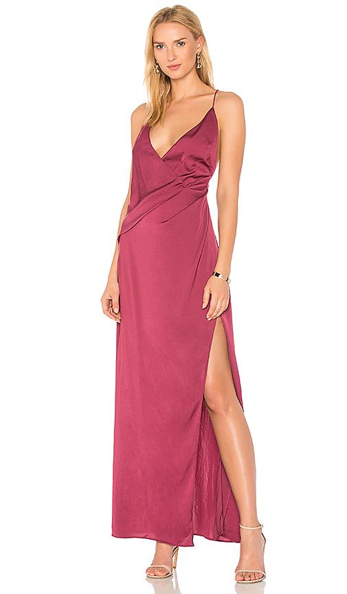 STYLESTALKER Livia Maxi Dress in Red