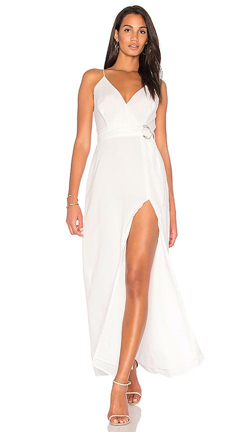 STYLESTALKER Aaliyah Dress in White