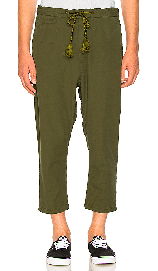 Scotch & Soda Loose 3/4 Length Pants in Green. - size L (also in M,S,XL)
