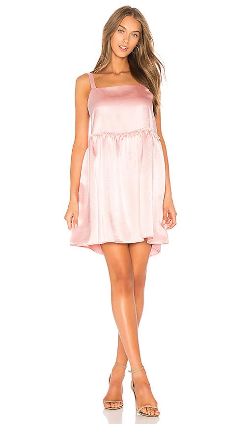 Steele x REVOLVE Silken Mini Dress in Pink