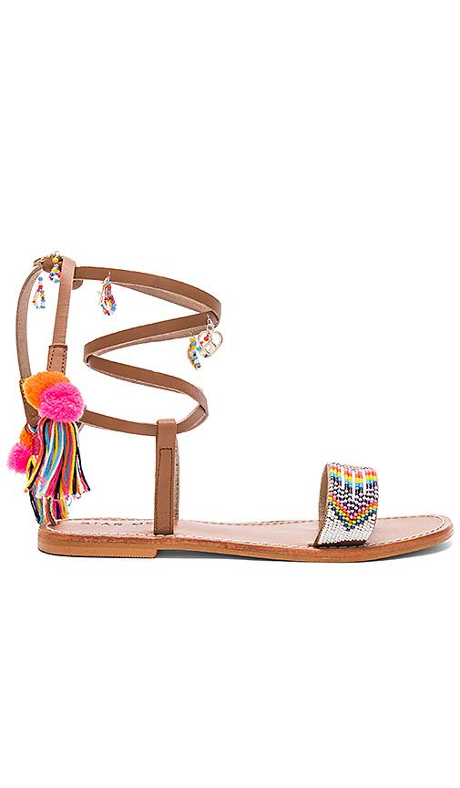 Star Mela Tuli Sandal in Brown
