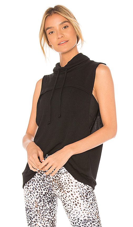 STRUT-THIS The Theo Vest in Black