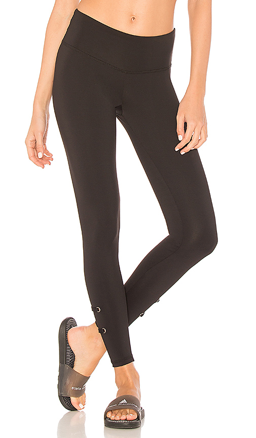 STRUT-THIS The Sienna Legging in Black. - size XS (also in L,M,S)