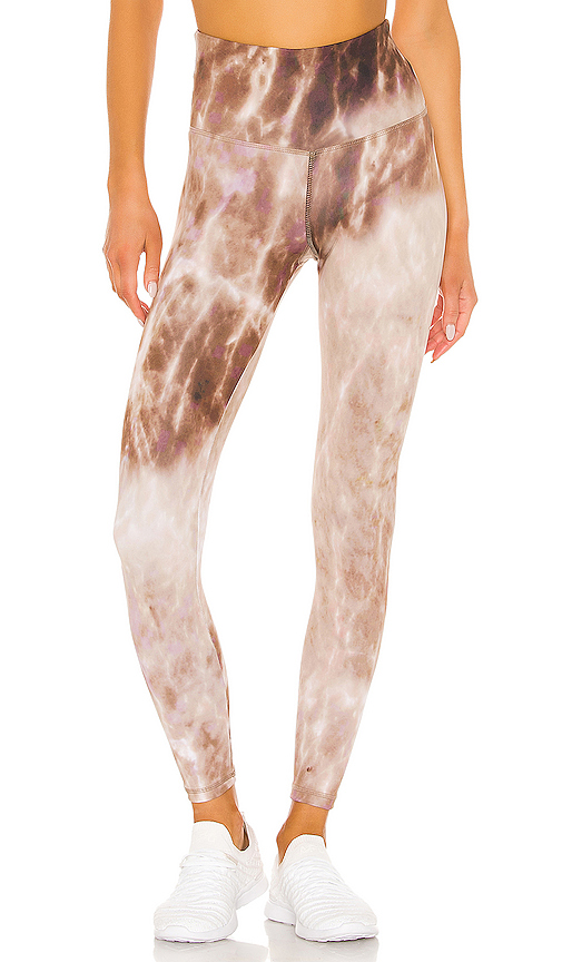 STRUT-THIS Teagan Ankle Legging in Brown. - size M (also in L,S,XS)