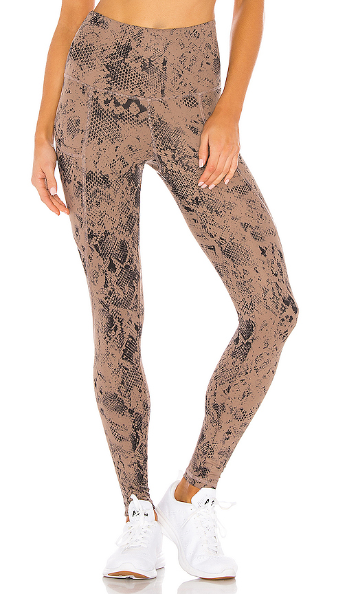 STRUT-THIS Flynn Ankle Legging in Brown. - size M (also in L,S,XS)